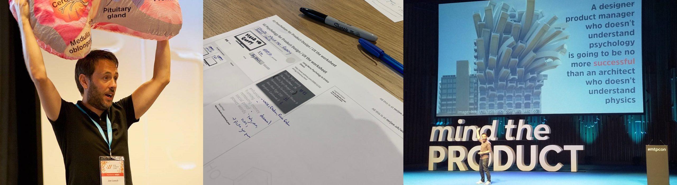 psychology workshop ux product design